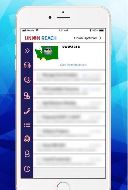 The Southwest Washington Central Labor Council's Mobile App